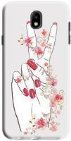Husa Samsung Galaxy J7 2017 - Custom Hard Case -  Peace