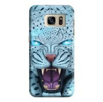 Husa Samsung Galaxy S7 Edge Custom Hard Case Blue Beast