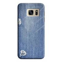 Husa Samsung Galaxy S7 Edge Custom Hard Case Blue Jeans