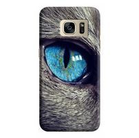 Husa Samsung Galaxy S7 Edge Custom Hard Case Cat Eye