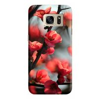 Husa Samsung Galaxy S7 Edge Custom Hard Case Cherry Flowers