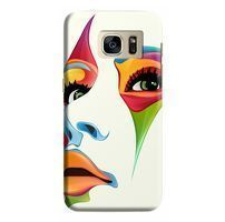 Husa Samsung Galaxy S7 Edge Custom Hard Case Colored Face