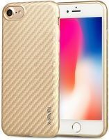 Husa iPhone 7 / iPhone 8  X-level Color Fiber - gold