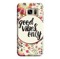 Husa Samsung Galaxy S7 Custom Hard Case Good Vibes