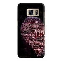 Husa Samsung Galaxy S7 Custom Hard Case Only Words