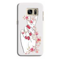 Husa Samsung Galaxy S7 Custom Hard Case Peace