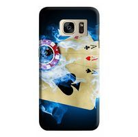 Husa Samsung Galaxy S7 Custom Hard Case Poker aces