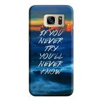Husa Samsung Galaxy S7 Custom Hard Case Try