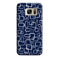 Husa Samsung Galaxy S7 Edge Custom Hard Case Blue Navy