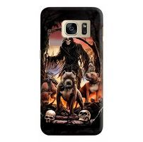 Husa Samsung Galaxy S7 Edge Custom Hard Case Deadly Dogs