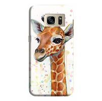 Husa Samsung Galaxy S7 Edge Custom Hard Case Giraffe