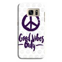 Husa Samsung Galaxy S7 Edge Custom Hard Case Good Vibes.1