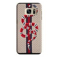 Husa Samsung Galaxy S7 Edge Custom Hard Case GuciSnake