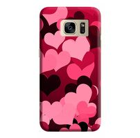 Husa Samsung Galaxy S7 Edge Custom Hard Case Heart Pattern.1