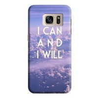 Husa Samsung Galaxy S7 Edge Custom Hard Case I Can