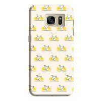 Husa Samsung Galaxy S7 Edge Custom Hard Case Lemon Bike