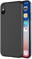 Husa  iPhone X Nillkin Synthetic Carbon Fibre - negru