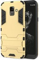 Husa  Samsung Galaxy J6 (2018) Slim Armour Hybrid Stand  - gold