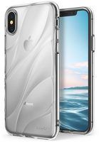 Husa Silicon iPhone X - Ringke Flow - transparent