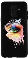 Husa Samsung Galaxy A6 Plus 2018 - Silicon Matte TPU Colored Eye