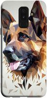 Husa Samsung Galaxy A6 Plus 2018 - Silicon Matte TPU Dog.1