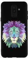 Husa Samsung Galaxy A6 Plus 2018 - Silicon Matte TPU Lion.1