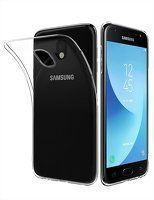 Husa  Samsung Galaxy J4 (2018)  Silicon TPU Slim - transparent
