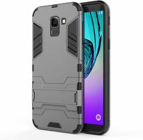 Husa  Samsung Galaxy J6 (2018) Slim Armour Hybrid Stand  - grey