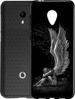 Husa Vodafone Smart N9 Lite - Silicon Matte TPU Angel.2