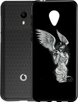 Husa Vodafone Smart N9 Lite - Silicon Matte TPU Angel.3