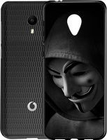 Husa Vodafone Smart N9 Lite - Silicon Matte TPU Anonymous
