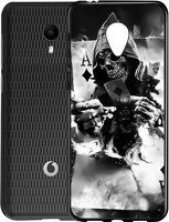 Husa Vodafone Smart N9 Lite - Silicon Matte TPU Deadly Ace