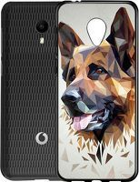 Husa Vodafone Smart N9 Lite - Silicon Matte TPU Dog.1