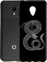 Husa Vodafone Smart N9 Lite - Silicon Matte TPU Dragon
