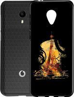 Husa Vodafone Smart N9 Lite - Silicon Matte TPU Eiffel Tower