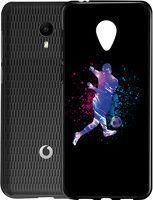 Husa Vodafone Smart N9 Lite - Silicon Matte TPU Football