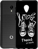 Husa Vodafone Smart N9 Lite - Silicon Matte TPU Love Travel