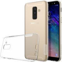 Husa   Samsung Galaxy A6 Plus (2018) Nillkin Nature Silicon TPU - transparent