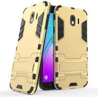 Husa  Samsung Galaxy J4 (2018) Slim Armour Hybrid Stand  - gold