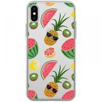 Husa iPhone X - Silicon TPU Cool Fruit