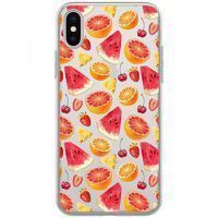 Husa iPhone X - Silicon TPU Fruits