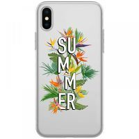 Husa iPhone X - Silicon TPU Summer