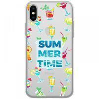 Husa iPhone X - Silicon TPU Summer Time