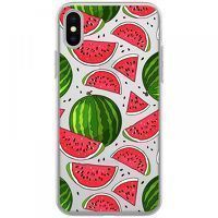 Husa iPhone X - Silicon TPU Watermelon