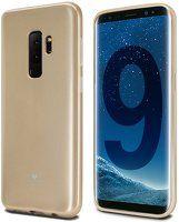 Husa Silicon Samsung Galaxy S9 Goospery Mercury Jelly - gold