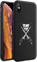 Husa iPhone X/XS - Silicon Matte - Anonymous 2