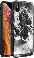 Husa iPhone X/XS - Silicon Matte - Deadly Ace