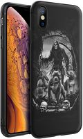 Husa iPhone X/XS - Silicon Matte - Deadly Dogs