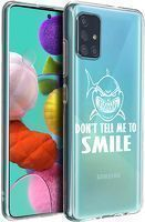 Husa Samsung A71 - Silicon Matte - Don't Tell Me To Smile 1