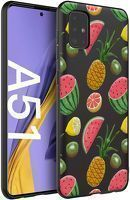 Husa Samsung A71 - Silicon Matte - Fruits